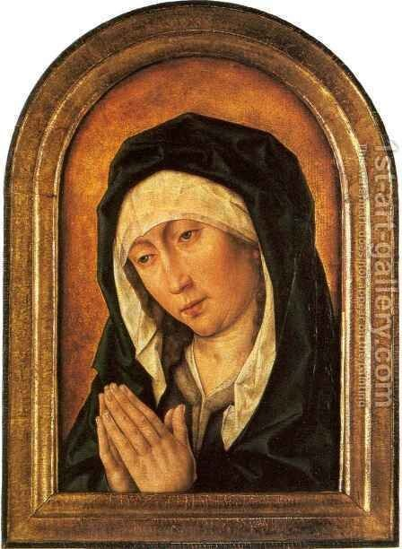 Mater Dolorosa by Aelbrecht Bouts - Reproduction Oil Painting