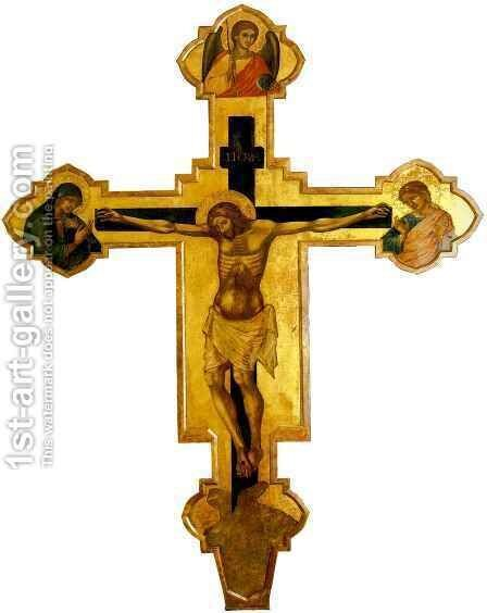 Crucifix by CATARINO - Reproduction Oil Painting