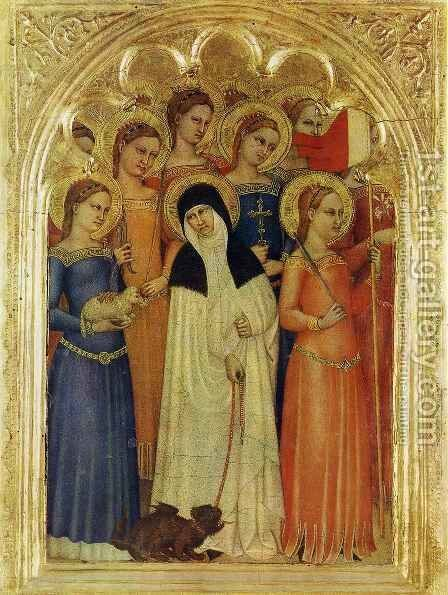 Virgins by Giovanni Da Milano - Reproduction Oil Painting
