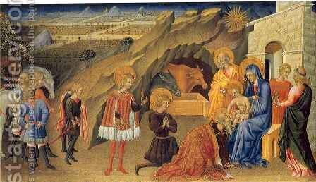 Adoration of the Magi by Giovanni di Paolo - Reproduction Oil Painting