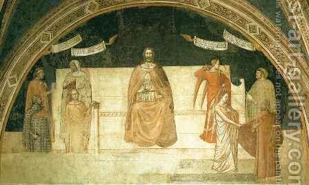 Good Judge Brutus by Ambrogio Lorenzetti - Reproduction Oil Painting