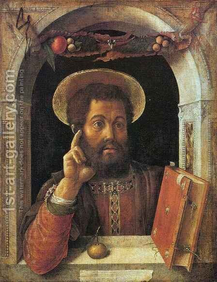 Saint Mark by Andrea Mantegna - Reproduction Oil Painting
