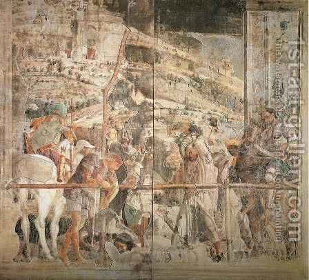 Scenes from the Life of Saint James Martyrdom of Saint James by Andrea Mantegna - Reproduction Oil Painting