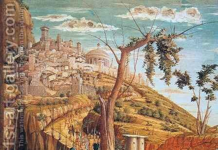 Agony in the Garden, detail by Andrea Mantegna - Reproduction Oil Painting
