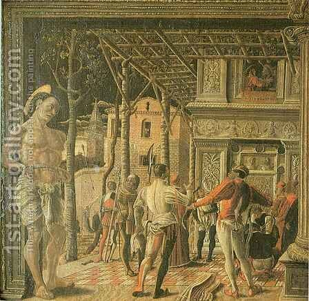 Martyrdom of Saint Christopher by Andrea Mantegna - Reproduction Oil Painting