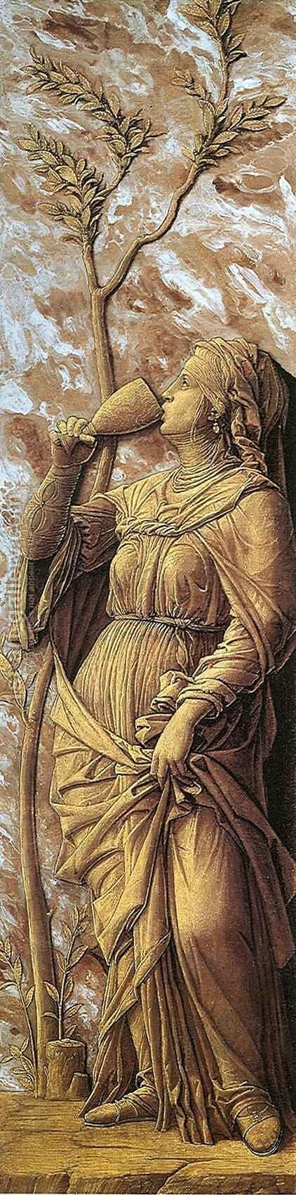 Sophonisba by Andrea Mantegna - Reproduction Oil Painting