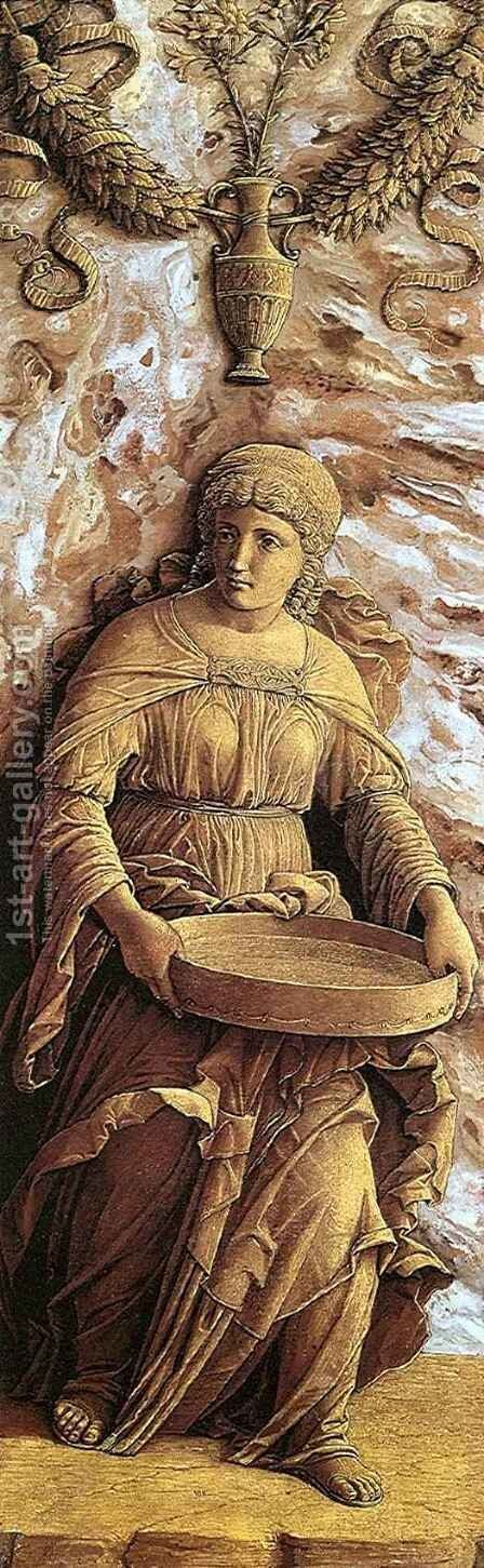 Tuccia by Andrea Mantegna - Reproduction Oil Painting