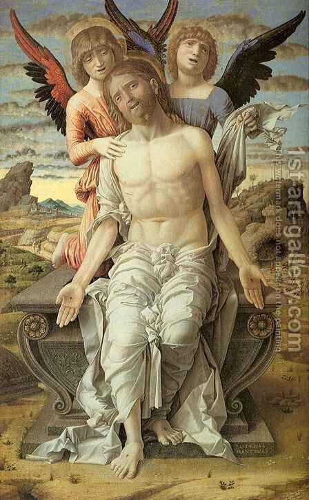 Pieta by Andrea Mantegna - Reproduction Oil Painting