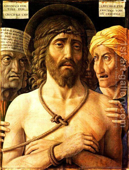 Ecce Homo by Andrea Mantegna - Reproduction Oil Painting
