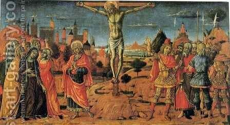 Crucifixion by Matteo Di Giovanni - Reproduction Oil Painting