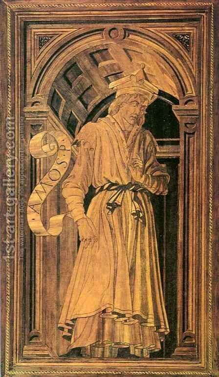 Prophet Amos by Antonio Del Pollaiuolo - Reproduction Oil Painting