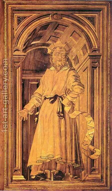 Prophet Isaiah by Antonio Del Pollaiuolo - Reproduction Oil Painting