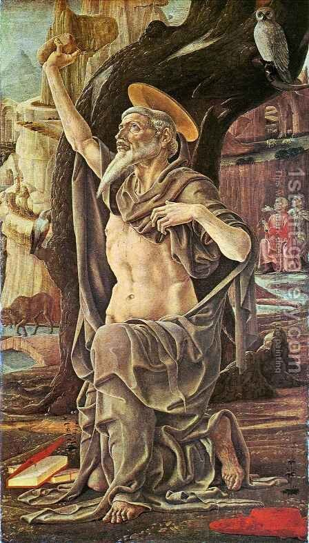 Saint Jerome by Cosme Tura - Reproduction Oil Painting