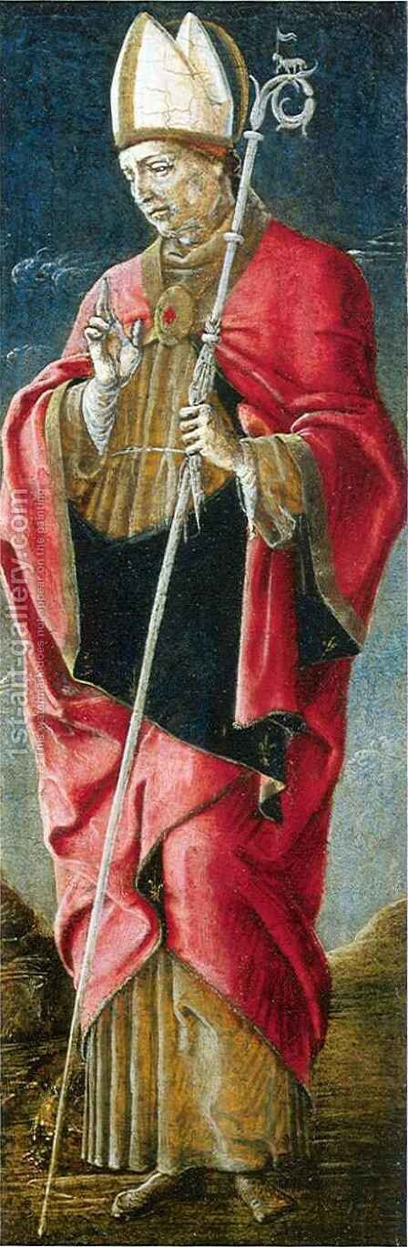 Saint Louis of Toulouse by Cosme Tura - Reproduction Oil Painting