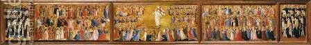 Predella of the San Domenico Altarpiece by Angelico Fra - Reproduction Oil Painting