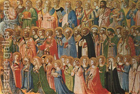 Predella of the San Domenico Altarpiece (detail) by Angelico Fra - Reproduction Oil Painting