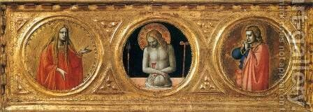 Predella of the St Peter Martyr Altarpiece (detail) by Angelico Fra - Reproduction Oil Painting