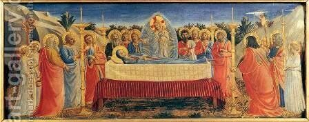 Dormition of the Virgin by Angelico Fra - Reproduction Oil Painting