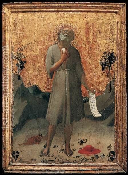 Penitent St Jerome by Angelico Fra - Reproduction Oil Painting