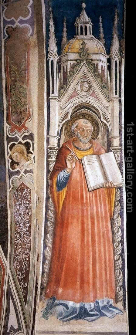 St Jerome by Bicci Di Lorenzo - Reproduction Oil Painting