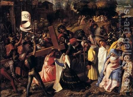 The Way to Calvary by Cariani - Reproduction Oil Painting