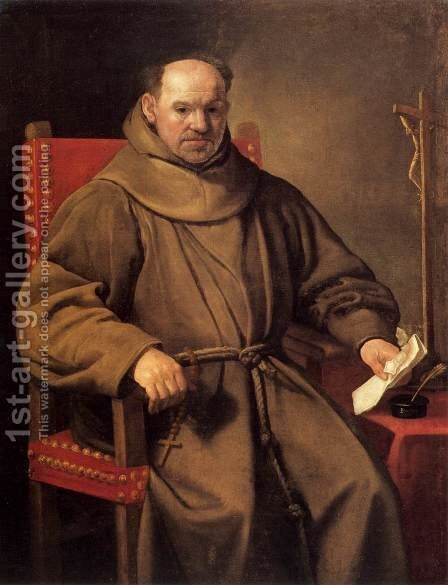 Portrait of a Friar by Carlo Ceresa - Reproduction Oil Painting