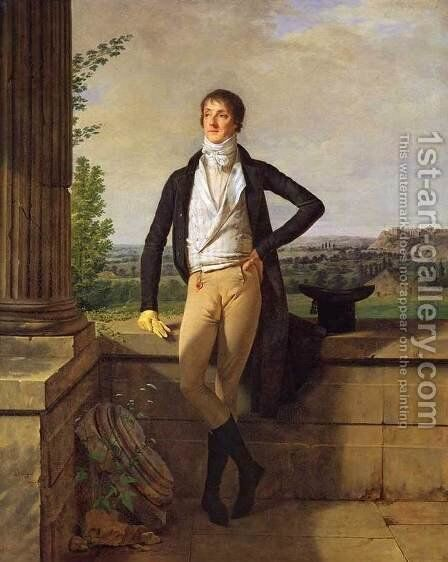 Barthelemy Charles, Comte de Dreux-Nancre by Martin Drolling - Reproduction Oil Painting