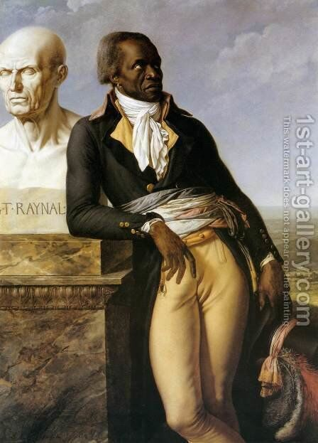 Portrait of J. B. Belley, Deputy for Saint-Domingue by Anne-Louis Girodet De Roussy-Trioson - Reproduction Oil Painting