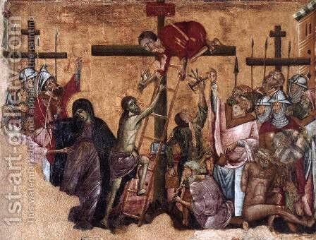 Christ Crucified by Guido Da Siena - Reproduction Oil Painting