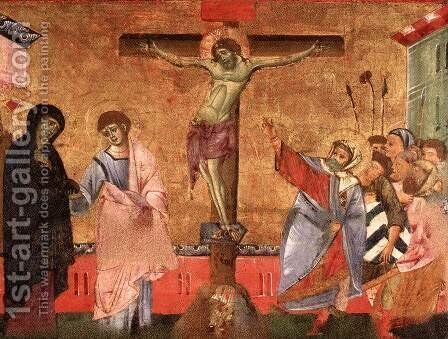 Crucifixion 2 by Guido Da Siena - Reproduction Oil Painting