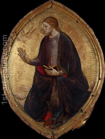 The Virgin Annunciate by di Nardo Mariotto - Reproduction Oil Painting
