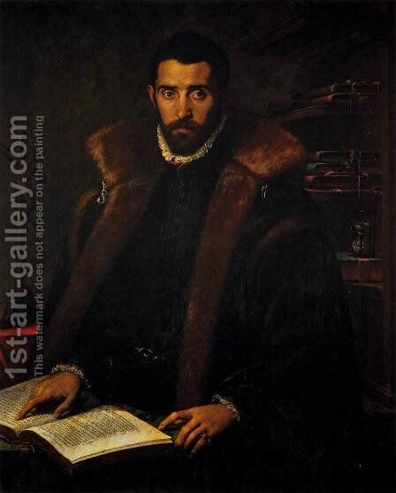 Portrait of Torquato Tasso by Italian Unknown Masters - Reproduction Oil Painting