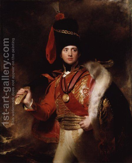 Charles William Vane by Sir Thomas Lawrence - Reproduction Oil Painting