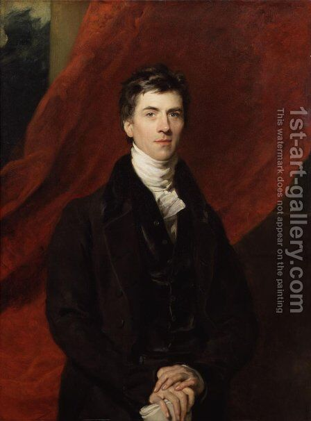 Henry Brougham by Sir Thomas Lawrence - Reproduction Oil Painting