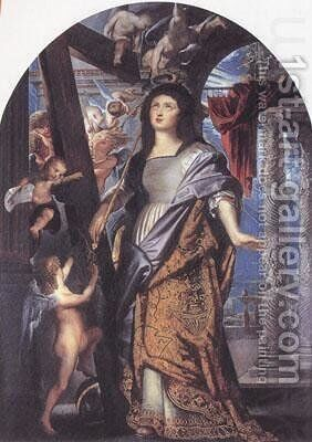 st. Helena with the true cross by Rubens - Reproduction Oil Painting