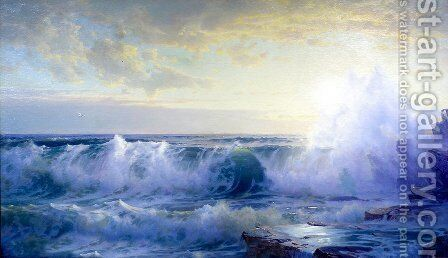 Newport Coast 2 by William Trost Richards - Reproduction Oil Painting