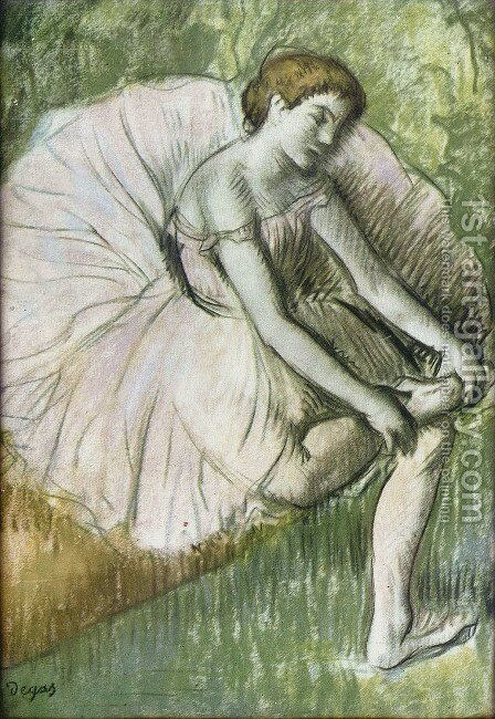 The Dancer by Edgar Degas - Reproduction Oil Painting