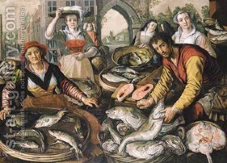The Four Elements Allegory 2 by Joachim Beuckelaer - Reproduction Oil Painting