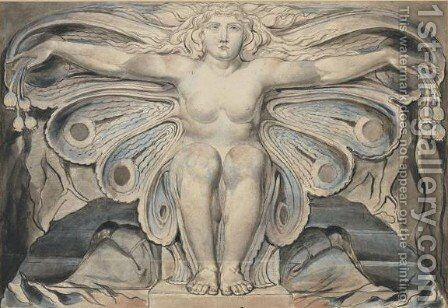 The Grave Personified by William Blake - Reproduction Oil Painting