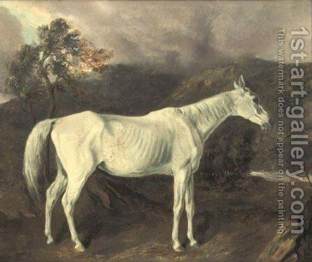 Reality By Sir Archy Out Of A Mare By Old Medley by Edward Troye - Reproduction Oil Painting