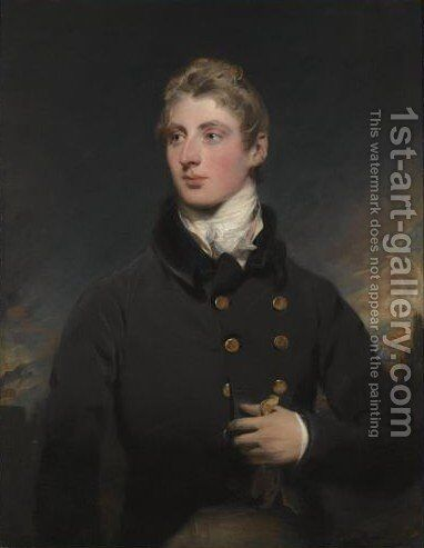 Portrait Of Gerald Wellesley (1790-1833) by Sir Thomas Lawrence - Reproduction Oil Painting