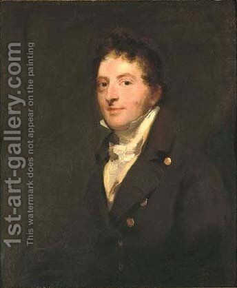 Portrait of Edward Morris (1768-1815) by Sir Thomas Lawrence - Reproduction Oil Painting
