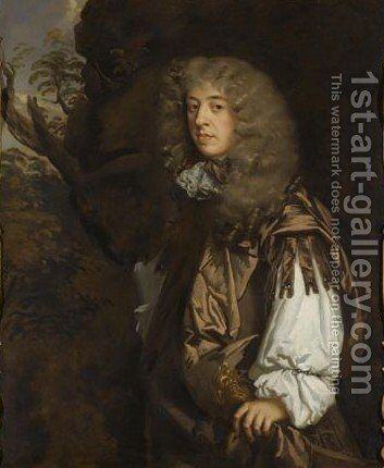 Portrait Of A Gentleman 3 by Sir Peter Lely - Reproduction Oil Painting
