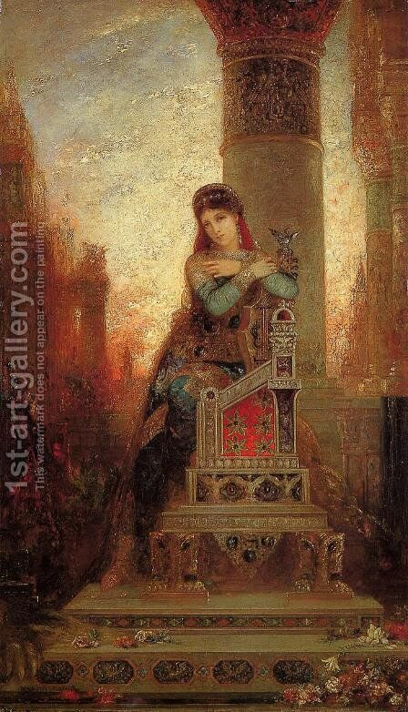 Desdemone 2 by Gustave Moreau - Reproduction Oil Painting