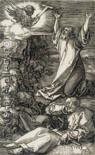 Christ On The Mount Of Olives 3 by Albrecht Durer - Reproduction Oil Painting