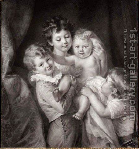 The New Arrival by Emile Munier - Reproduction Oil Painting