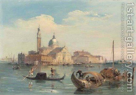 San Giorgio Maggiore by Edward Pritchett - Reproduction Oil Painting