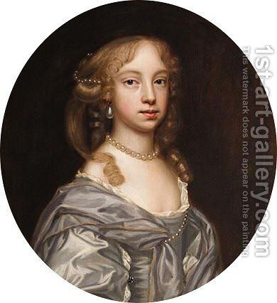 Portrait Of A Lady 2 by Mary Beale - Reproduction Oil Painting