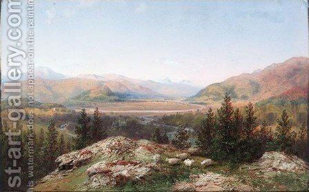Birkhall Ballater by Carlo Bossoli - Reproduction Oil Painting