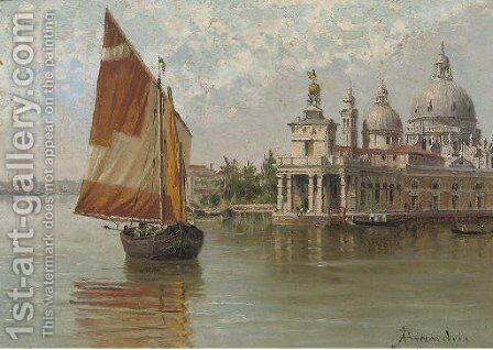 The Doge's Palace, Venice 2 by Antonietta Brandeis - Reproduction Oil Painting